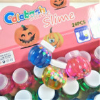 "2.25"" Colorful Slime w/ Colored Beads 24 per display bx .35 ea"