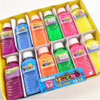"4.75"" Juice Bottle Look Bright Color Slime 12 per display .58 each"