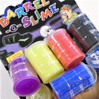 "3"" Barrel of Slime Mixed Colors 12 per display bx .58 ea"
