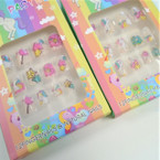 Unicorn Theme  Kids Fashion Nail Sets .54 ea set