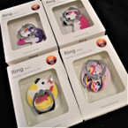 Unicorn Theme w/ 360 Rotate Ring Hook Phone Holder 12 per pk .56 each