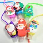 "3"" Christmas Theme Scented Hand Santizers 12 per pk @ .56 each"