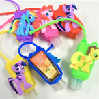 "3"" Cute Pony  Theme Scented Hand Santizers 12 per pk @ .56 ea"