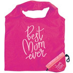 Just for Mom Foldable Tote Bag Reusable 24 per display bx $ 1.40 ea