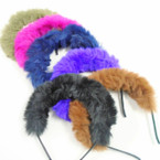 Winter Color Fury Style Fashion Headbands  .60 ea