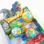 "2"" Dinosaur Theme Light Up YoYo's 12 per display bx .56 each"
