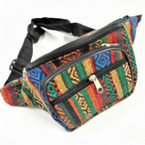 Mixed Color Baja Print 3 Zipper Fanny Packs $ 3.25 ea
