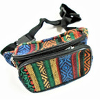 Mixed Color Baja Print 2 Zipper Fanny Packs $ 3.00 each