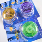 "2.25"" Super Clutch Lite Up YoYo's Ind. Carded 12 per pk .58 each"