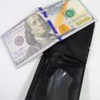$ 100 Bill Novelty Bi-Fold Wallet 12 per pk .58 each