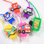"3"" Transportation Theme Fruit Scented Hand Santizers 12 per pk @ .56 each"