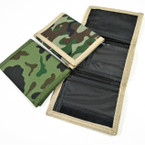 Popular 2 Color Camouflage Tri Fold Wallets .58 each