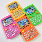 "5"" Cell Phone Theme Water Toy Game Asst Colors .55 each"
