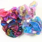 2 Pack Asst Metallic Print Hair Twisters  .54 per set