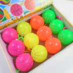 "2.5"" Flashing Basketball w/ YoYo & Squeaks 12 per display bx .56 ea"