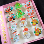 Flashing Christmas Theme Rings Limited Sale .50 each
