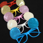 Lenseless Sparkle Mouse Ear Novelty Glasses .55 each