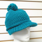 SPECIAL Heavy Knit Winter Cap w/ Visor & Knit  Beanie $ 1.75 each