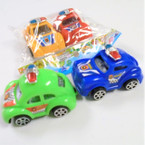 "2 Pack 2.75"" Pull Back Punch Buggy Cars 12-2 pks per bag .65 per set"