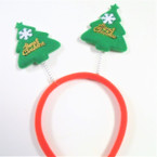 Red & Green Bobble Merry  Christmas Tree Headbands .56 each