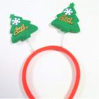 Red & Green Bobble Merry  Christmas Tree Headbands .56 each