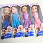 "6"" Gift Boxed Fashion Doll w/ Fancy Dress 12 per bx .55 each"