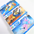 Space Team  DIY Space Aircraft   12 per display Mixed Styles .56 ea