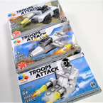 Troops Attack  DIY Attack Vehicles  12 per display Mixed Styles .56 ea