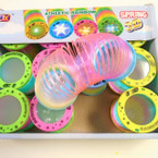NEW Light Up Flashing Magic Springs Happy Face  Theme .58 each
