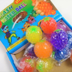 "2.5"" Fruit Theme Squish Bead Balls 12 per display box Mixed Styles .56 ea"