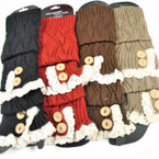 Best Quality Boot Fashion Knit Leg Warmers Mixed Colors ONLY $ 2.00 ea