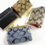 "Designer Inspired Theme 3"" Snap Closure Coin Purse .58 ea"