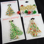 Just Arrived Great Selection & Quality Christmas Broaches .58 each