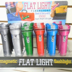 "4.5"" Flat Magnetic LED Flashlights 24 per display $ 1.25 each"