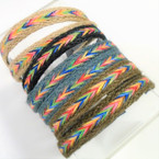 Asst Color JUTE Style Headbands .54 each
