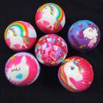 "2.5"" Unicorn Theme Print Relax Stress Squeeze Balls 12 per pk .42 ea"