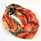 SPECIAL Loopy Infinity Scarf  Multi Tye Dye Look  sold by pc $ 1.50 each