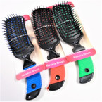"9"" Asst Color Banana Hair Brush  12 per box $ 1.00 each"