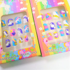 Kid's Unicorn Theme Fashion Nails  .54 per set