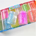 """2"""" X 3"""" Glitter Flake Slime Mud 12 per bx .58 each"""