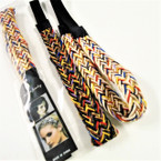 Multi Color Pattern Fashion Headbands w/ Elastic Band  .54 each