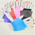 Regular Fish Net Fashion Gloves Asst Colors .52 per pair