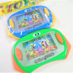 "4"" X 6"" Water Toy Game Asst Colors 12 per pk .58 each"