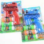 "5"" x 7"" Train  Bubble Gun w/ Flashing Lights & Train Sound  sold by pc  $3.50 each"