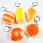 "2"" Squishy Bakery Assortment Keychains .60 each"
