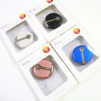 Mixed Color Round  Ring Hook Phone Holders (709BT) 12 per pk .56 each