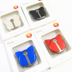 Mixed Color Cat Ear  Ring Hook Phone Holders (707BT) 12 per pk .56 each