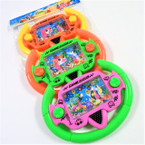 "4.5"" X 6"" Steering Wheel Water Games 12 per pk .65 each"