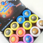 "NEW ! 2.5""  Solar System Planet Slime 12 per display bx .56 each"
