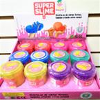 "NEW ! 2"" X 3"" Super Slime Asst Colors 12 per display box .62 each"